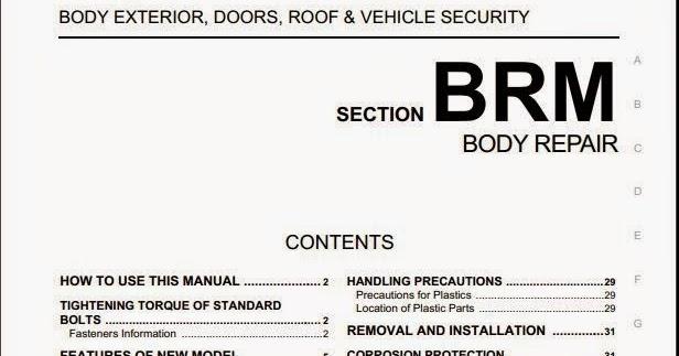 free automotive manuals suzuki alto 2009 body repair manual rh freeautomotivemanual blogspot com alto lxi service manual pdf maruti alto lxi service manual