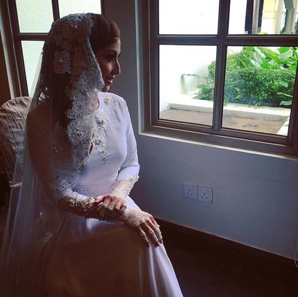 Maria Farida dan Datuk Rahman selamat bernikah