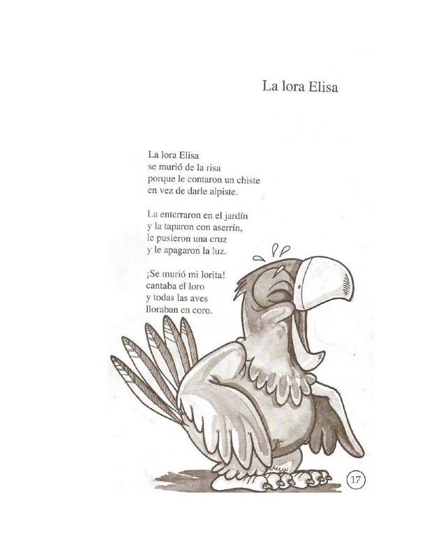 poemas infantiles cortos de gabriela mistral