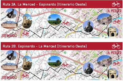 """Al campus pedaleando"" ruta 2A"