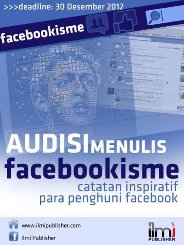 Audisi Menulis Catatan Inspiratif Facebook 2012