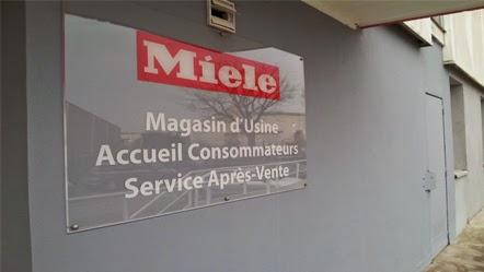 Le magasin d'usine Miele en région parisienne c'est des soldes toute l'année