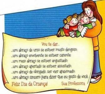 Obfrases Seus Sentimentos Em Uma Frase Dia Das Crianças