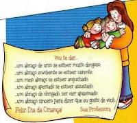 dia das crianças, frases dia crianças
