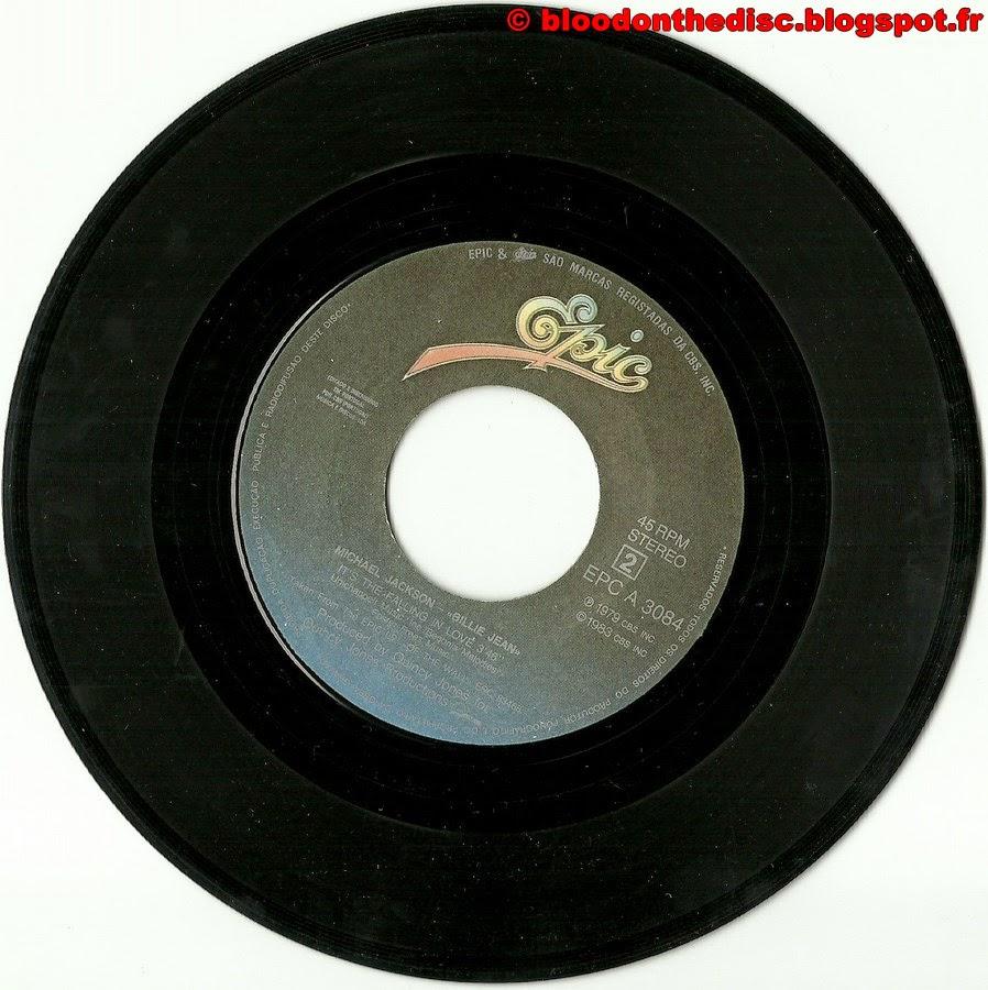 Billie Jean 45T Porto Side 2