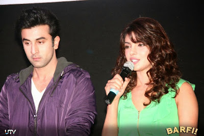 Barfi! Trailer Launch Images Featuring Hot Ranbir Kapoor, Priyanka Chopra