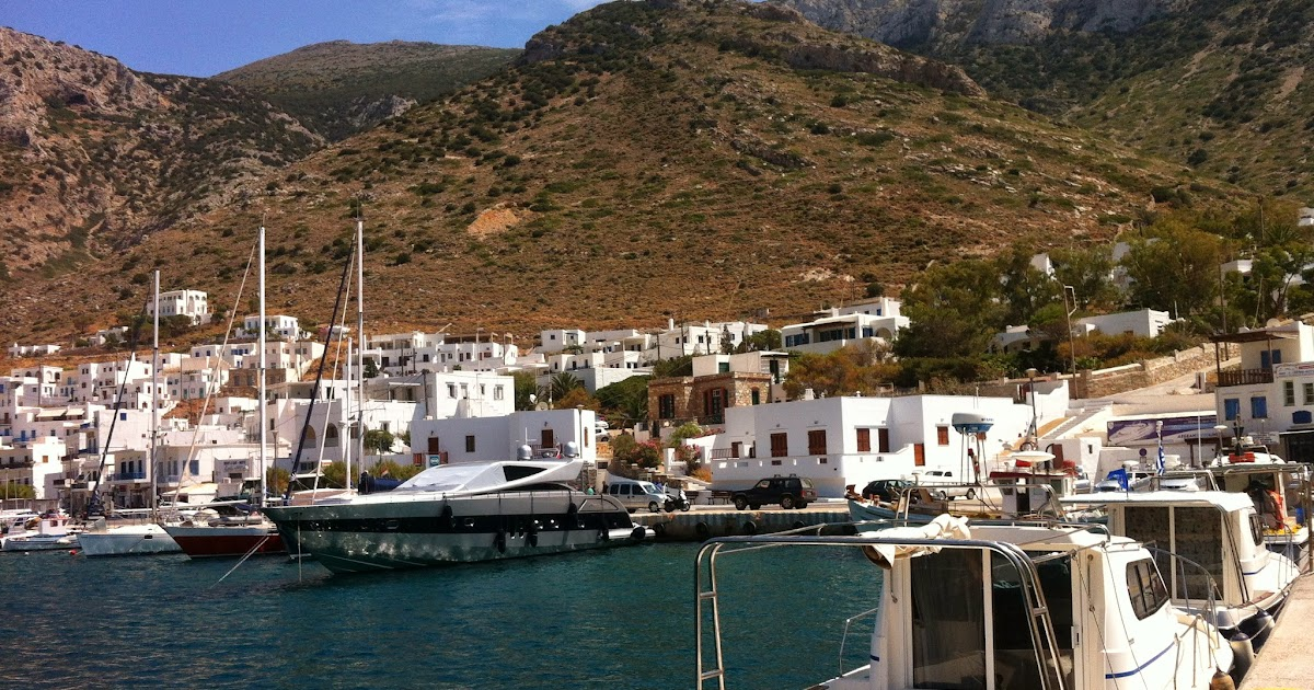 Lesser Cyclades Greek Islands