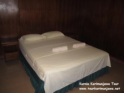 tempat tidur laguna inn karimunjawa