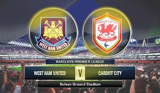 west ham united vs cardiff city