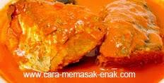 resep praktis dan mudah membuat (memasak) masakan asam padeh ikan tongkol spesial khas minangkabau enak, lezat
