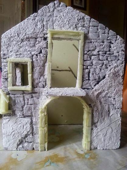 Come costruire un presepe con fogli di polistirene - Progetti e costruzioni porte ...