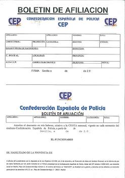 BOLETÍN DE AFILIACIÓN