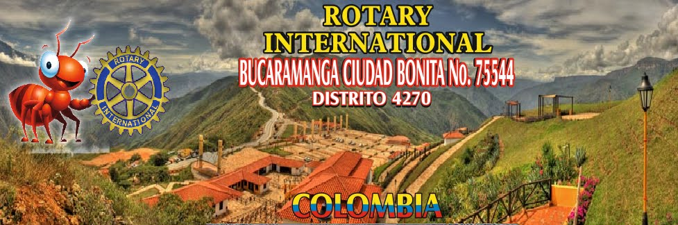 CLUB ROTARIO BUCARAMANGA CIUDAD BONITA