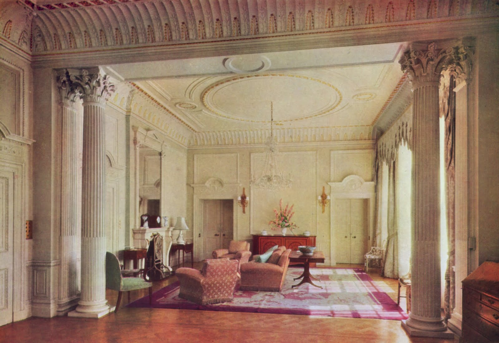... By The Furniture To The Rooms Of Clarence House. These, Though Built  During The Regency, Are Essentially Late Georgian In Character, With The  Spacious ...
