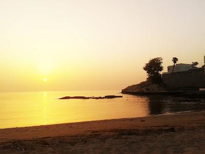 puesta de sol Muscat