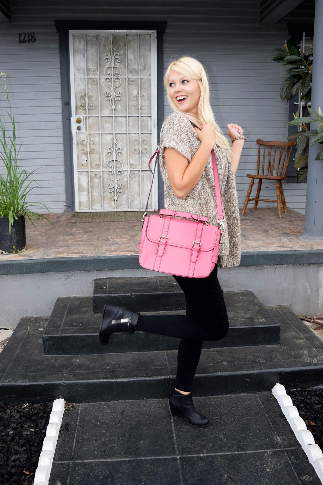 Pink, Purse, Ifchic, ifchic24, cross bag