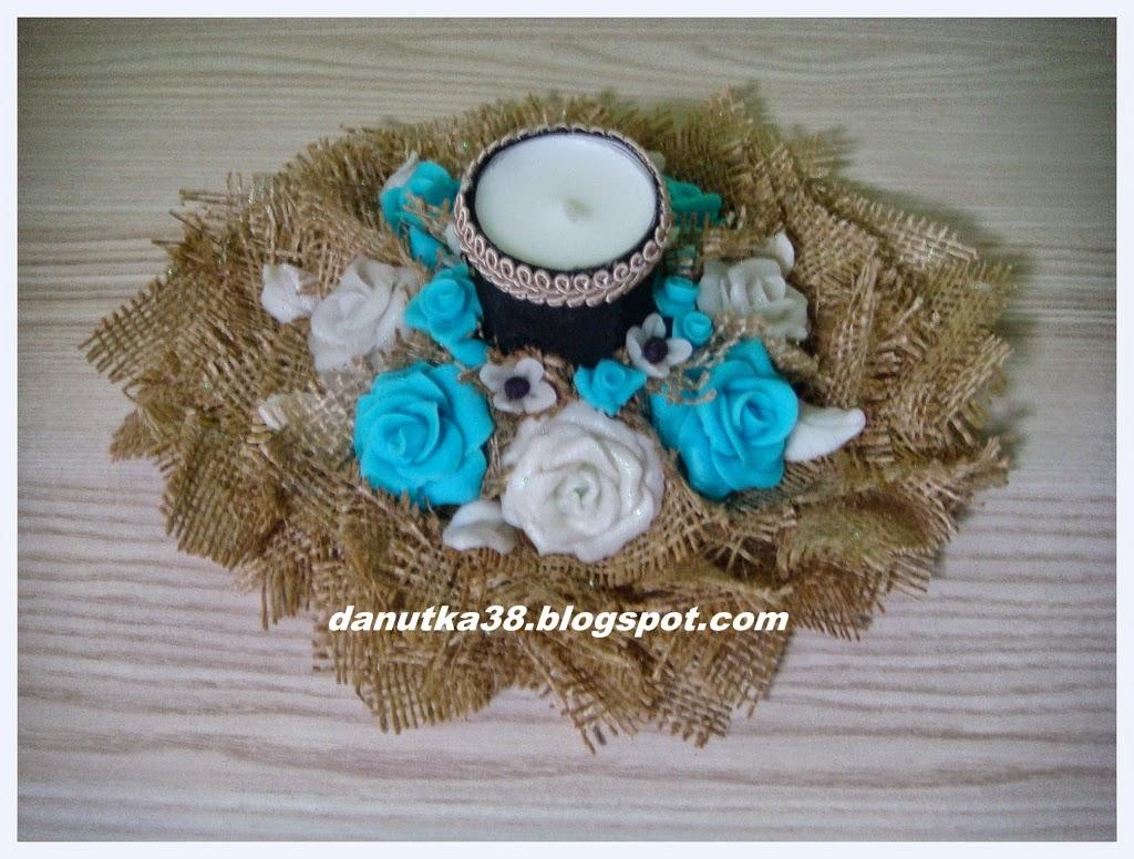 zimna porcelana,kwiaty