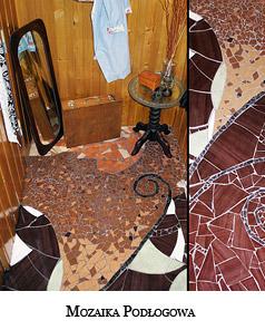 Mozaika przedpokojowo-podłogowa