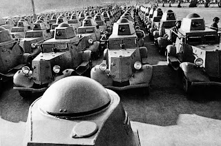 Russian armored cars, 1941