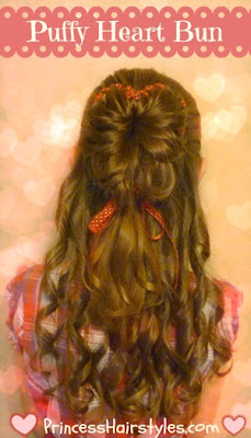 Valentines Hairstyle With Curls