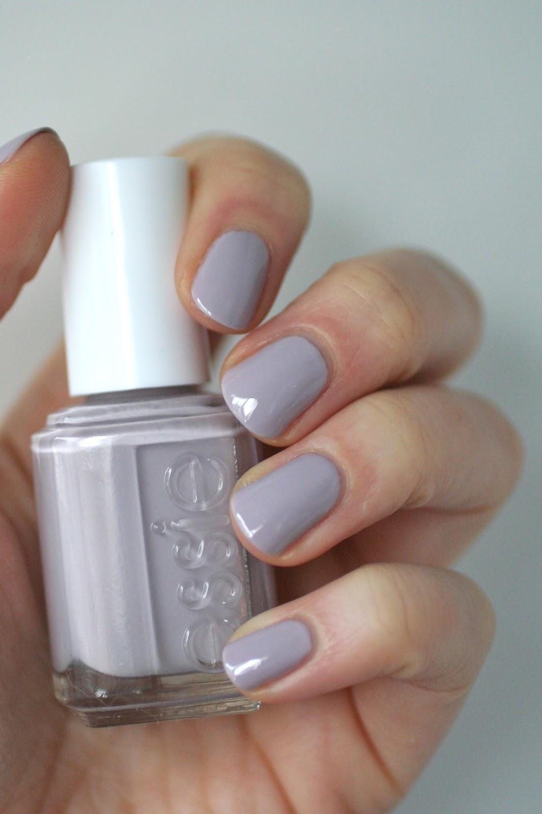 Essie Grey-Purples Comparison : Lilacism, Love & Acceptance, Bangle ...