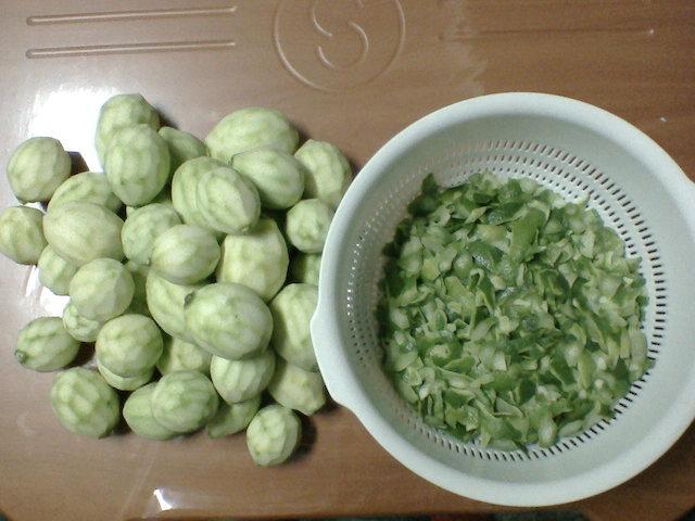 8 斤檸檬綠皮大約 660 公克(1.1斤)