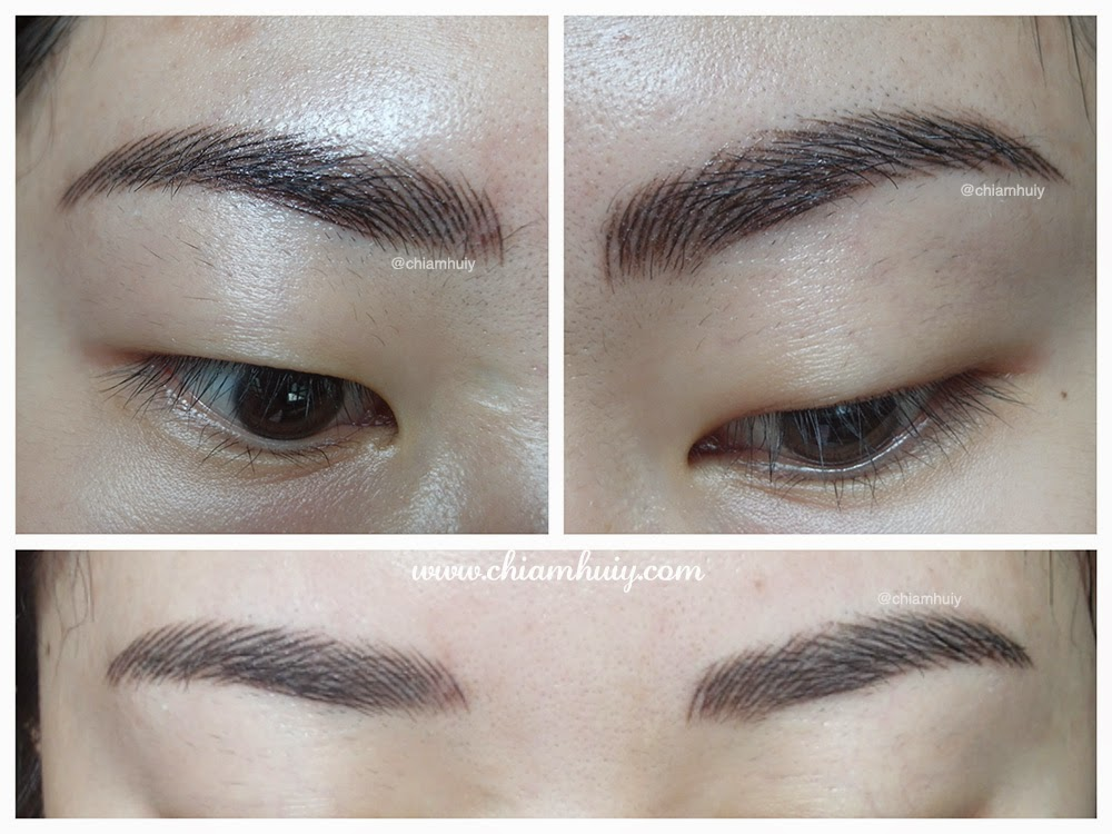 D eyebrow embroidery review perfect brow house celine