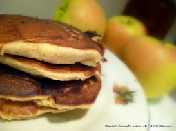 Apple - Yogurt rustic cloud pancakes