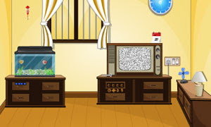 Vintage Tv Room Escape