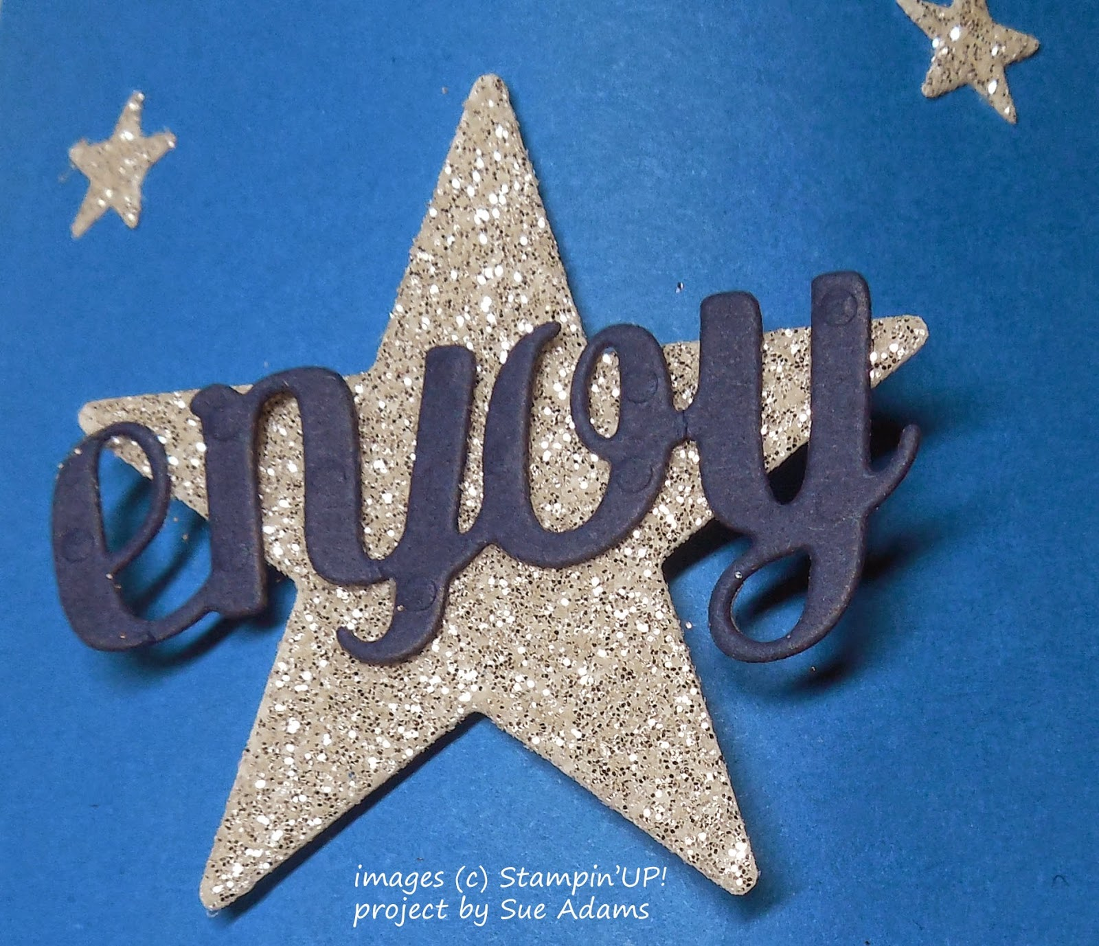 Some of the embellishments that come with Stampin'UP!'s Mini Treat Bag Thinlet Die