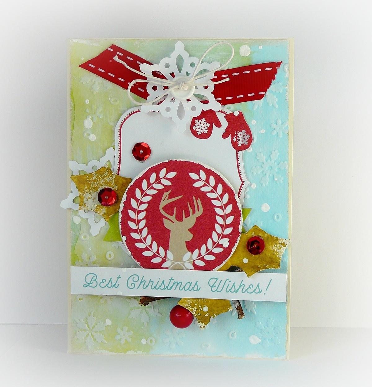 kolorowa kartka na święta