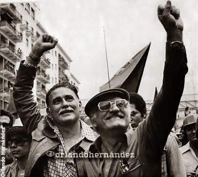 José Vicente Rangel y Pompeyo Márquez, 1978