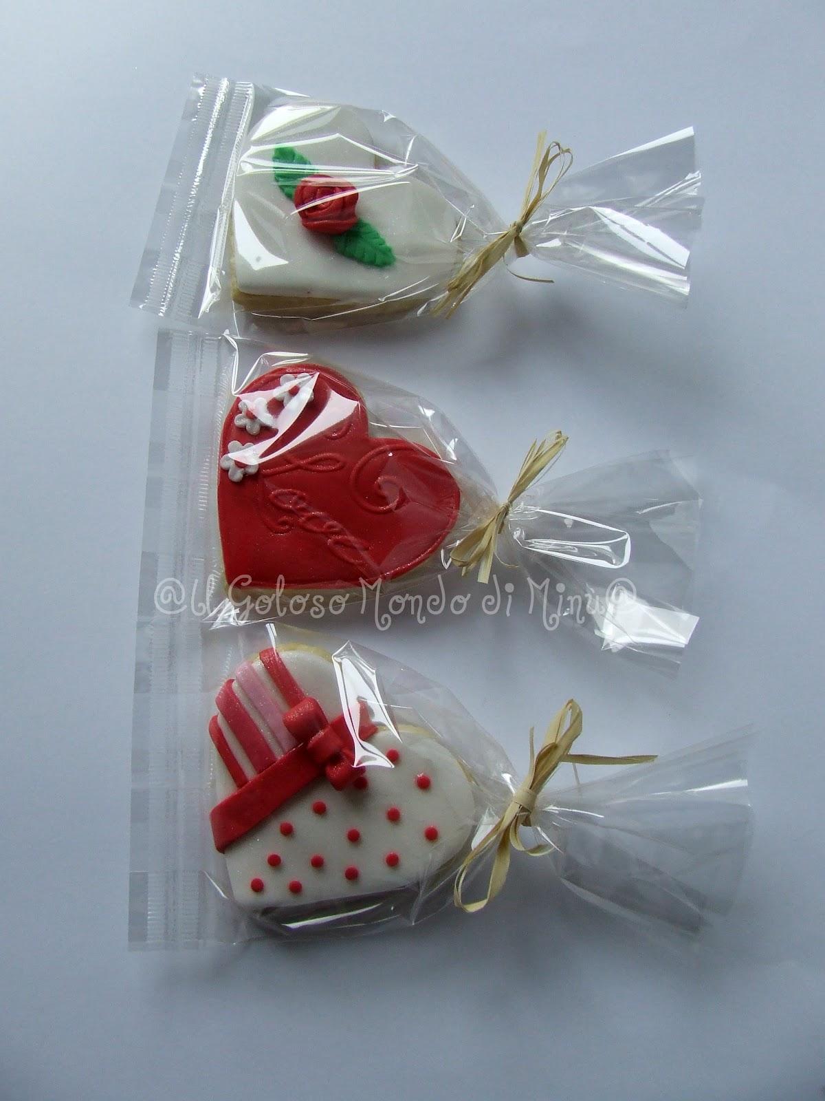 Il goloso mondo di minu 39 biscotti decorati di san valentino - Decori per san valentino ...