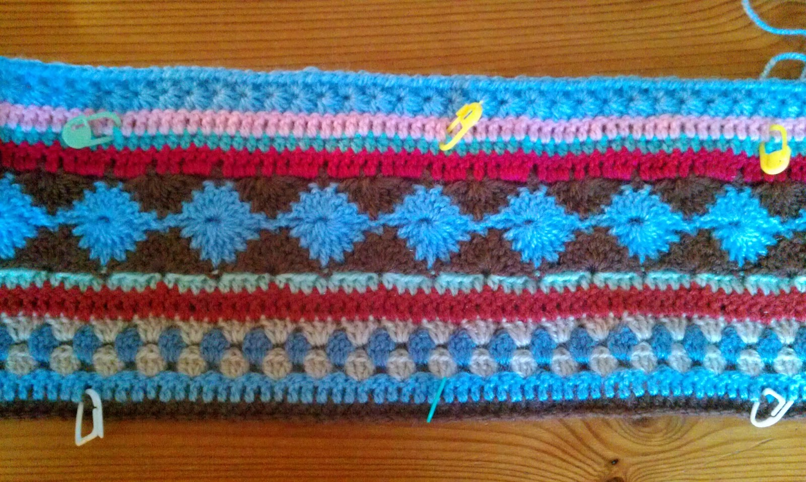 Welkom Bij Elfi Crochet Along Week 6 Grannys En Gehaakte Col