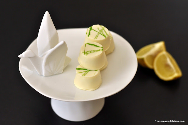 Zitronen-Matcha-Pralinen
