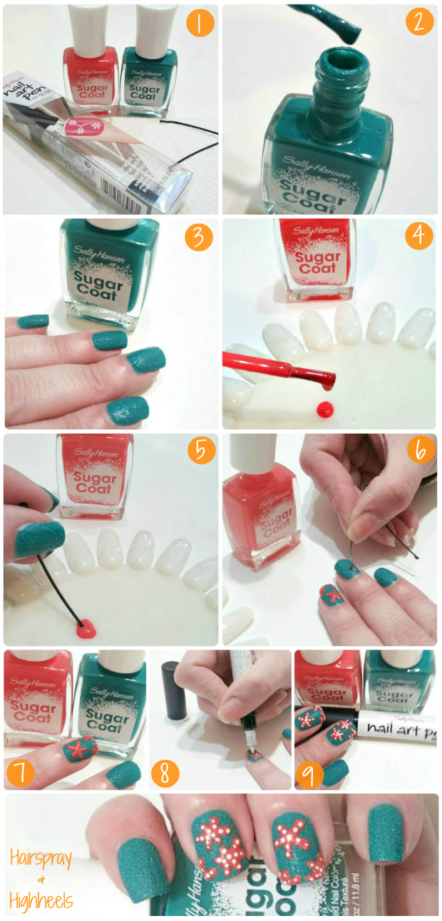 How To Get A Beach Ready Manicure With Sally Hansen At Walgreens #IHeartMyNailArt