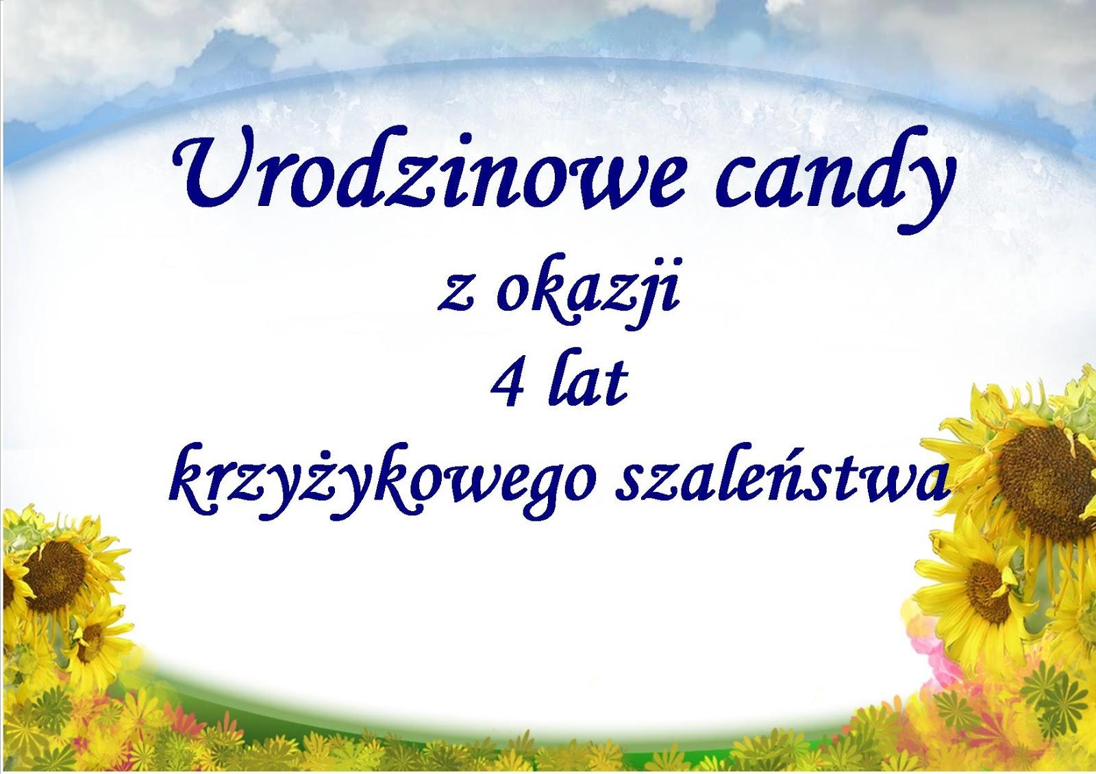 Urodzinowe Candy u Kasi