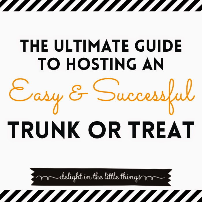Ultimate Guide to Hosting a Halloween Trunk or Treat #trunkortreat