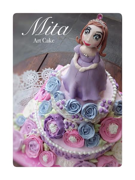 Mita art cake on facebook