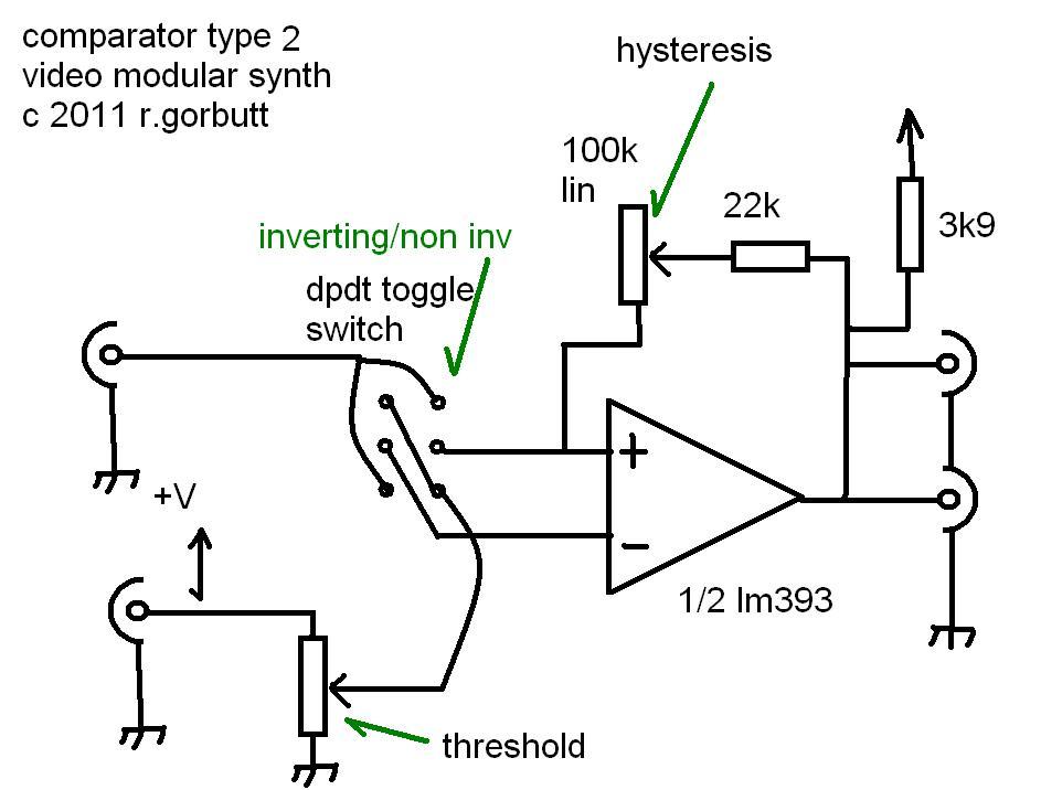 synthpunk u0026 39 s blog  video comparator circuits