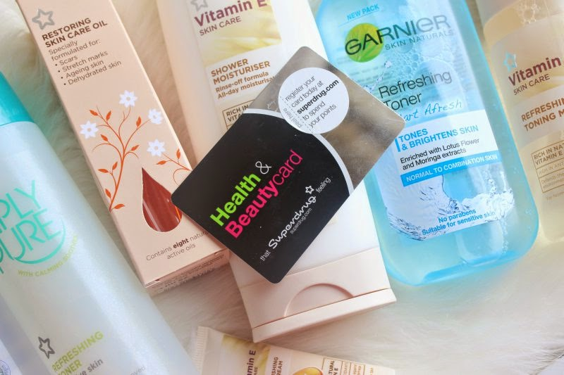 Superdrug Beauty Points Haul