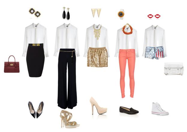 Mi Mundo Fuscia: combinaciones de ropa para mujer casual