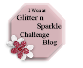 Wow... I'm a winner at Glitter and Sparkle