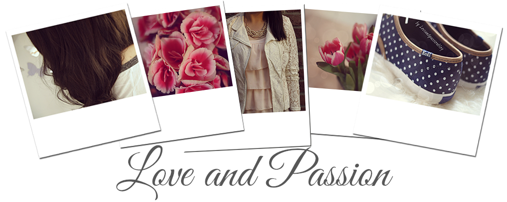 'LoveAndPassion - A personal Lifestyleblog