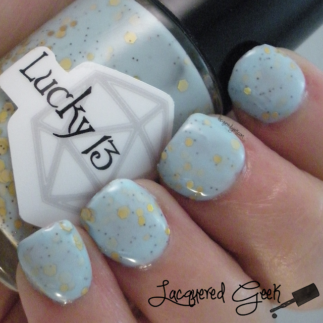 Softening the Bad Things from Lucky 13 Lacquer swatch