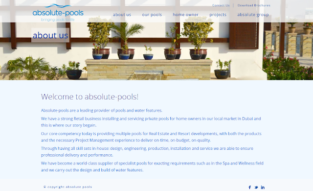 leading swimming pool contracting company in Dubai