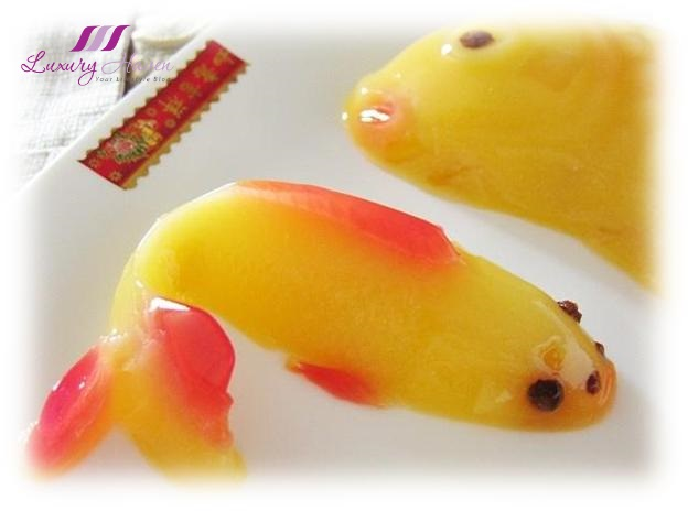 delicious mango pudding fish fruit desserts