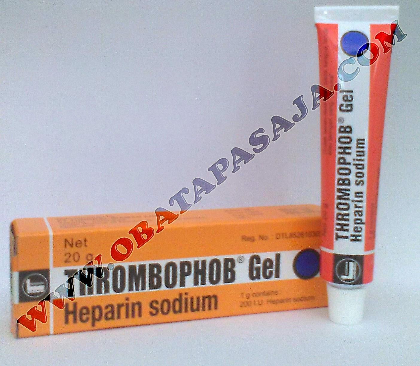 Komposisi, Harga dan Cara Pemakaian Thrombophop Gel