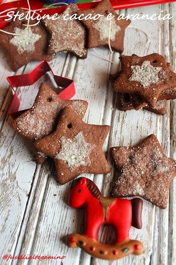 Biscotti stella Natale