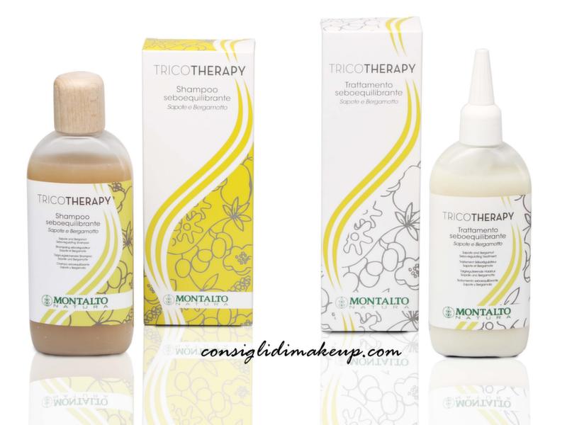 tricotherapy shampoo e trattamento capelli grassi